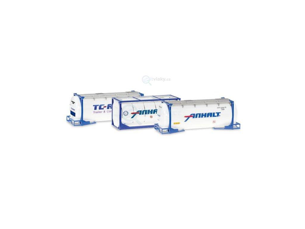 H0 - Set kontejnerů, 3 ks / Herpa 076500-004