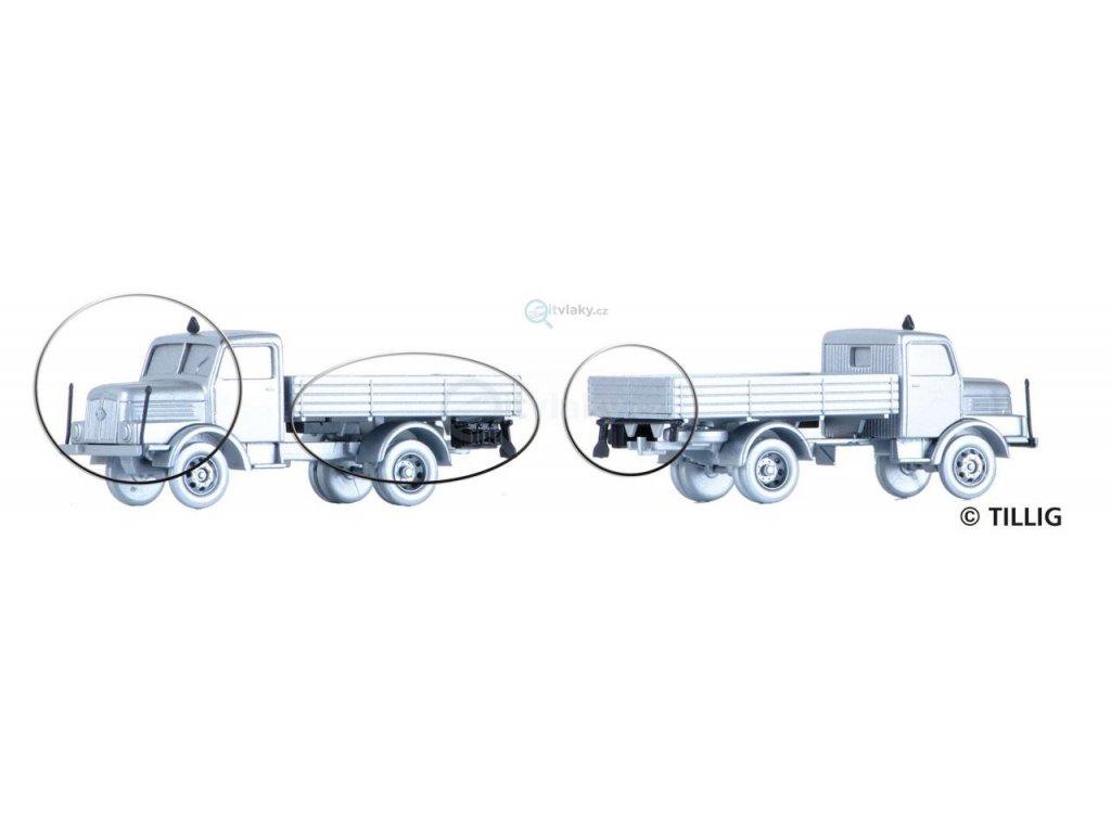 TT -  doplňky pro 2 nákladní automobily H3A / TILLIG 07800
