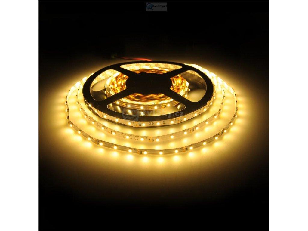 3 LED / 5cm pásek osvětlení SMD3528 - teple bílé 12V, 4,8W/m / WE 10066