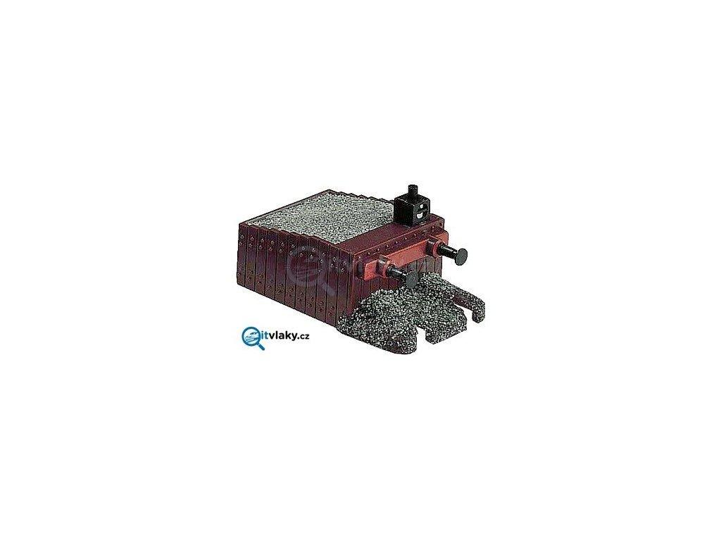 TT -  zarážedlo s nárazníky, dřevo - štěrkové / Tillig 07950