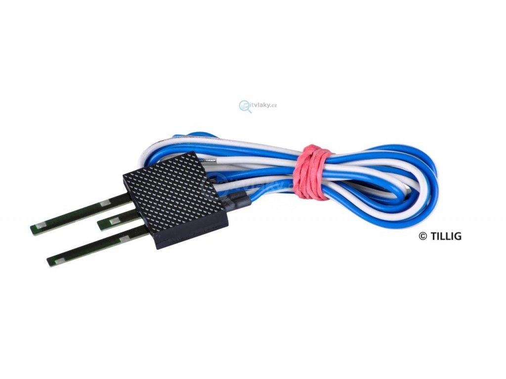TT - napájecí prvek pro modelové koleje / Tillig 08402