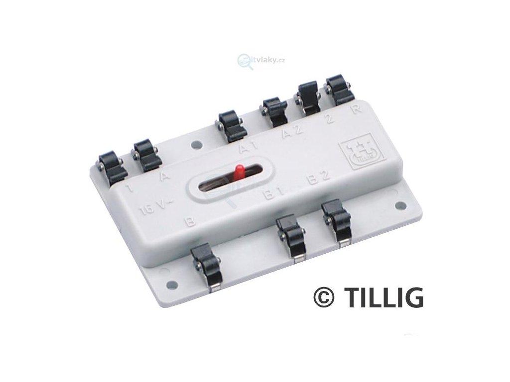Spínací relé - 2 spínané výstupy - klasika! / Tillig 08410