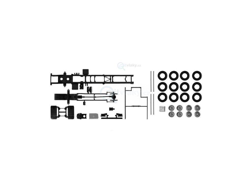 H0 - Podvozek MB Econic, 2ks / Herpa 084697
