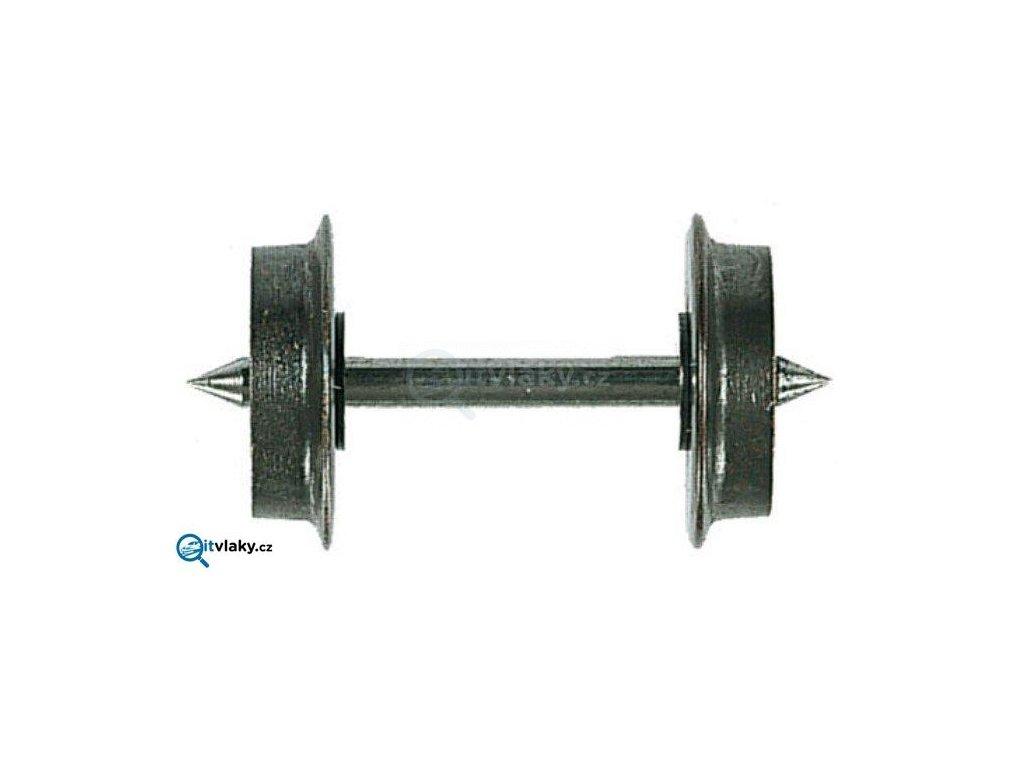TT - 1ks kovových dvojkolí, jednostranně izolováno, průměr 8 mm / Tillig 08820x