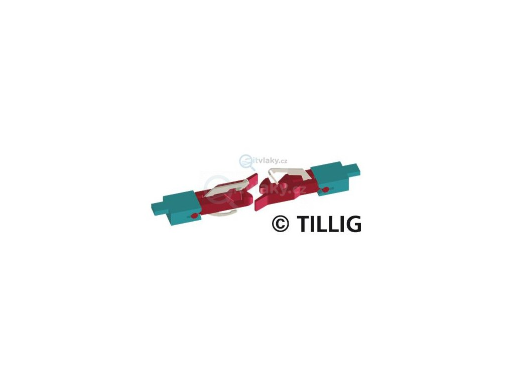 TT - spřáhlo do šachty NEM, balení 1ks / TILLIG 08840x