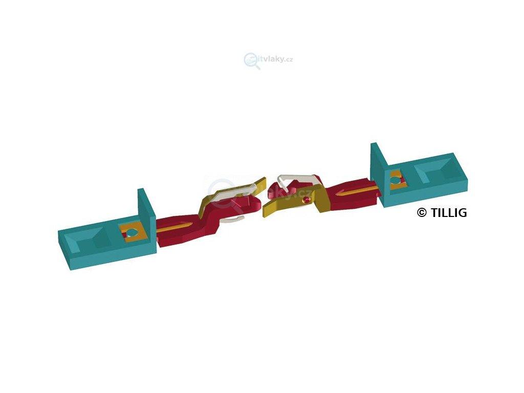TT - Nové spřáhlo pro 4-osou V 180, 2 ks / Tillig 08842