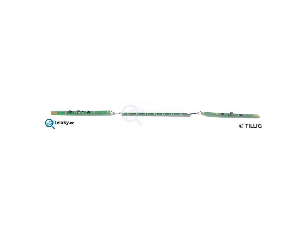 TT - vnitřní osvětlení vyhlídkových vozů / Tillig 08854