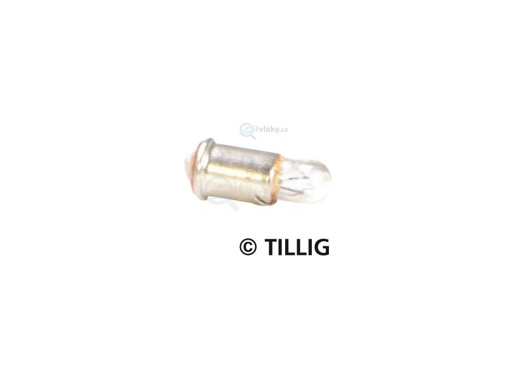 TT - 6 x žárovka do vozů  6V / Tillig 08878 (39518)