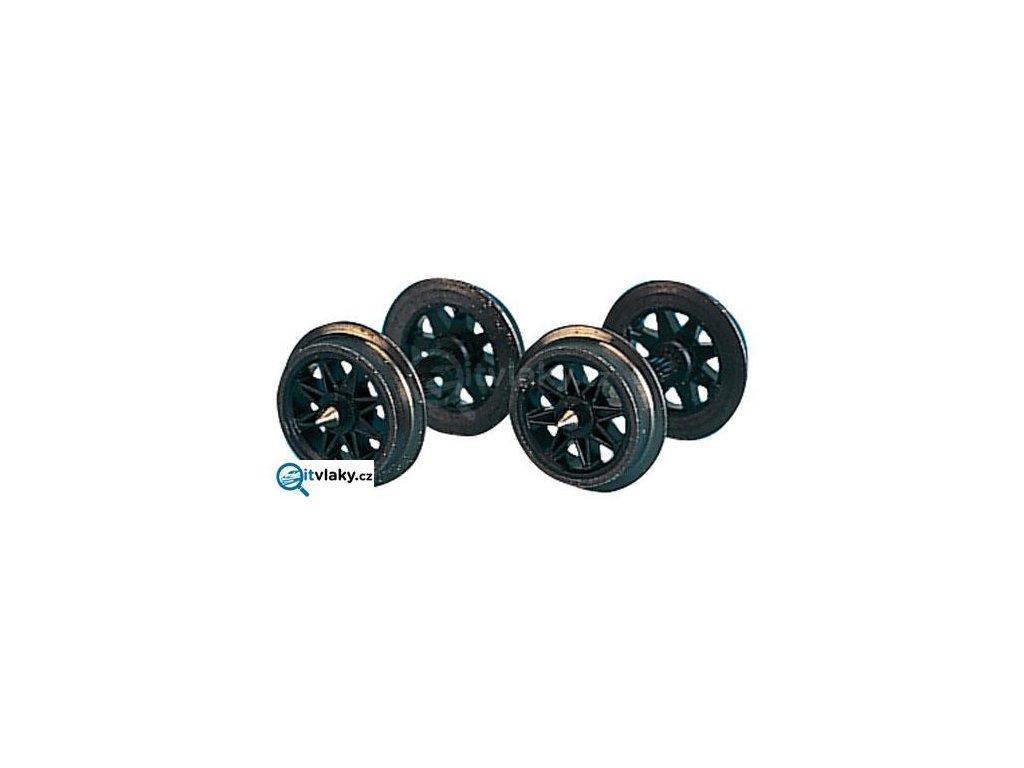 H0m/TT - Dvojkolí loukoťové 10ks - 8.5 mm, osička 17.8 mm / Tillig 08890