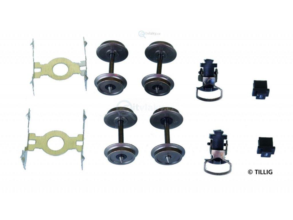 H0m - Sada doplňků pro úzkorozchodné vozy / Tillig 08892