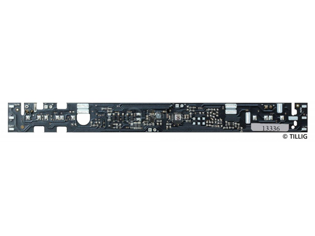 TT - DCC LED osvětlení interiéru pro BC4i-31 / C4i-33 / Tillig 08905