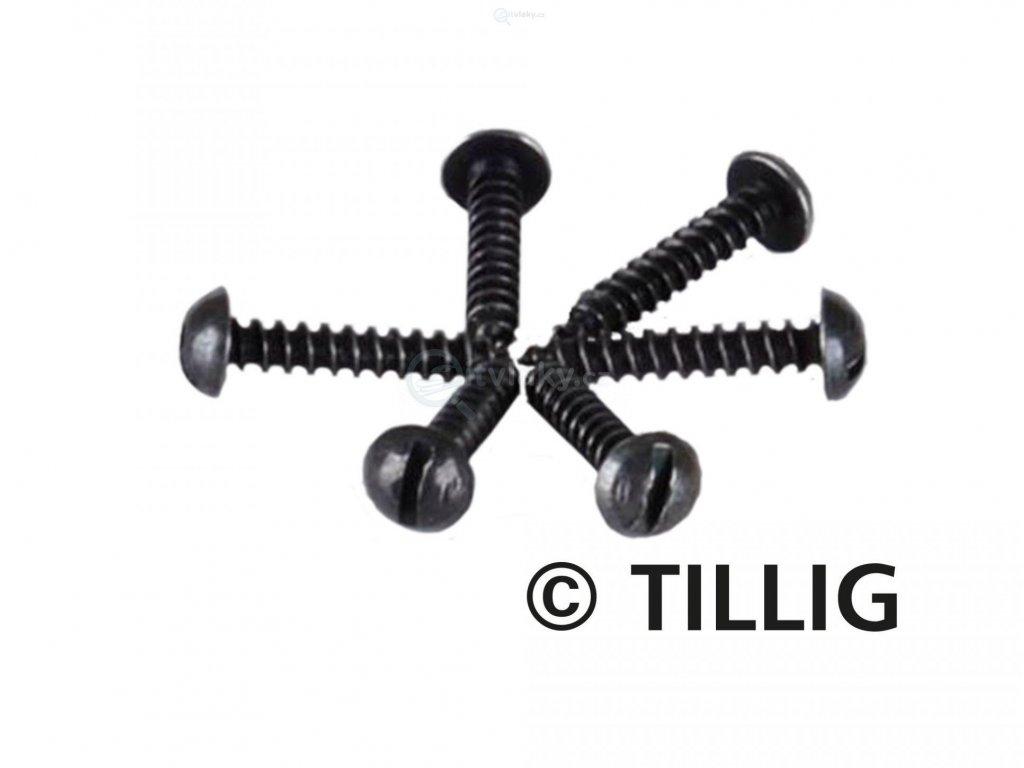 TT - šroubky k upevnění kolejí 1,4 x 8 mm, 100ks / Tillig 08970