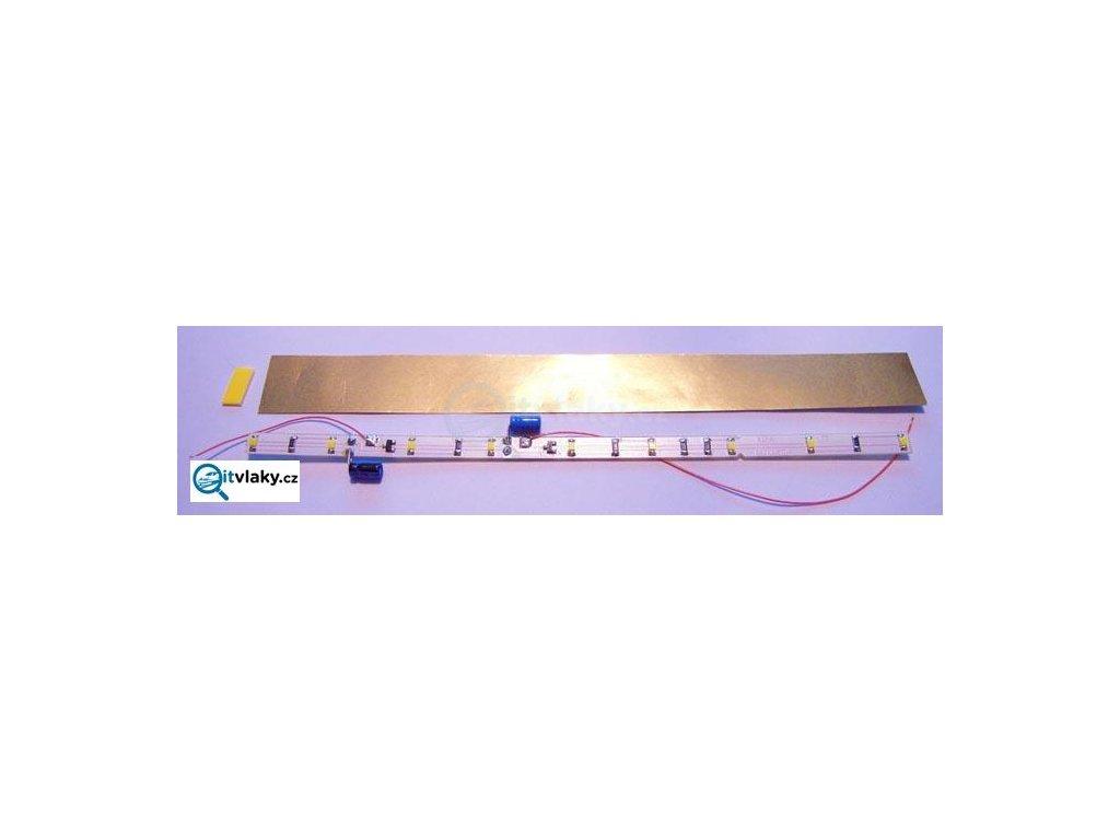 TT -Vnitřní osvětlení pro  vůz typ Schürzenwagen - Tillig, bílé LED/ 08986W Říha