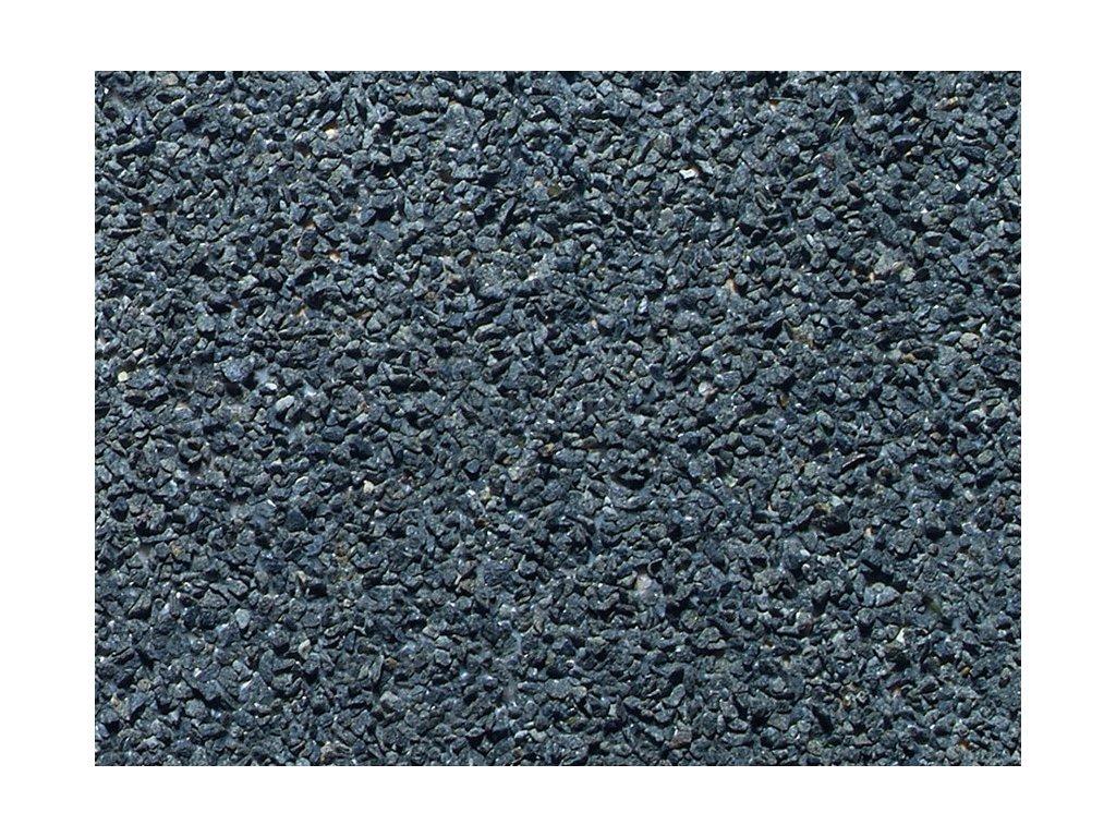 N/Z - Kolejový štěrk, tmavě šedý, 250g / Noch 09165