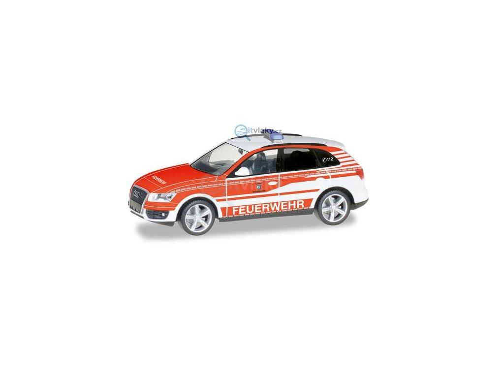 "H0 - Audi Q5 commando vehicle ""fire Department Ransbach-Baumbach"" / HERPA 092975"