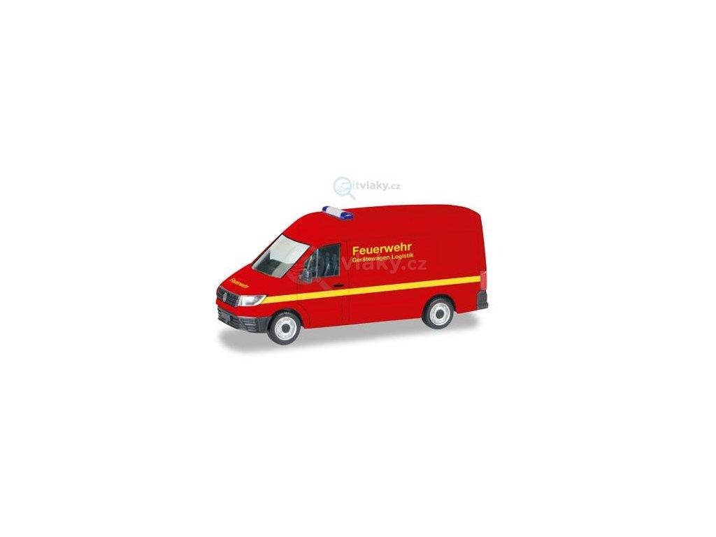 """H0 - VW Crafter """"požární sbor"""" / Herpa 093477"""
