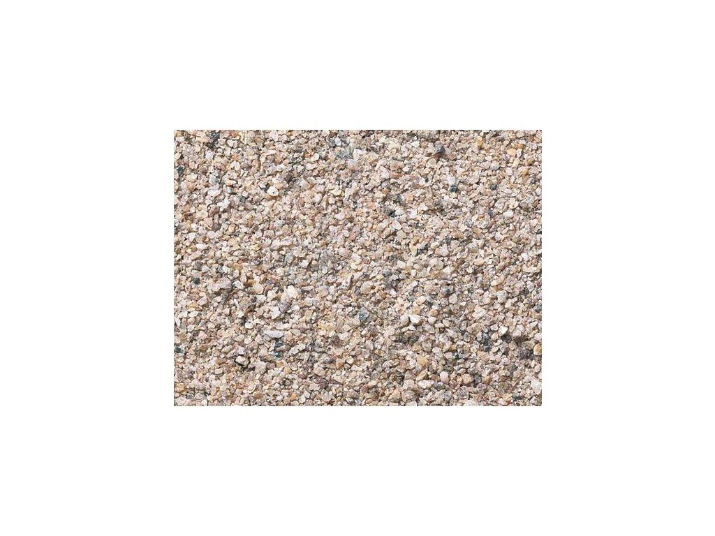 H0/TT - Kolejový štěrk - hnědý / NOCH 09372