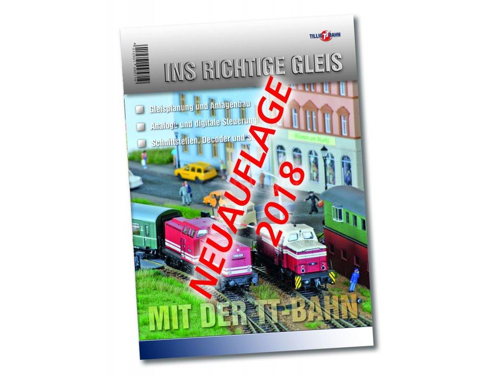 TT  - Po správné koleji - příručka v němčině  - veze 2018 / TILLIG 09571