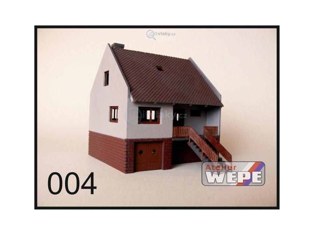 H0 - Řadový dům ,,Řadovka'' 004 / AWEPE model 10007