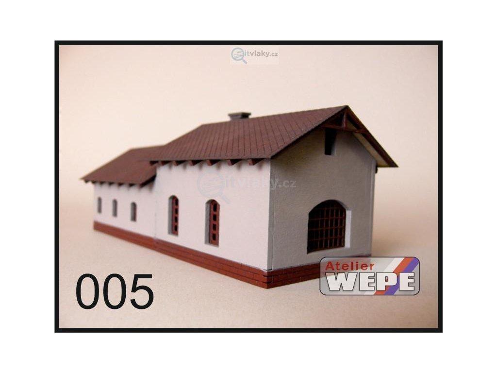 """H0 - Historické stavení ,,Kovárna"""" 005 / AWEPE model 10009"""