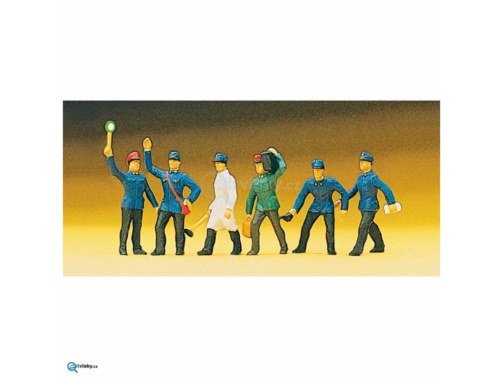 H0 - Železniční zaměstnanci / Preiser 10010