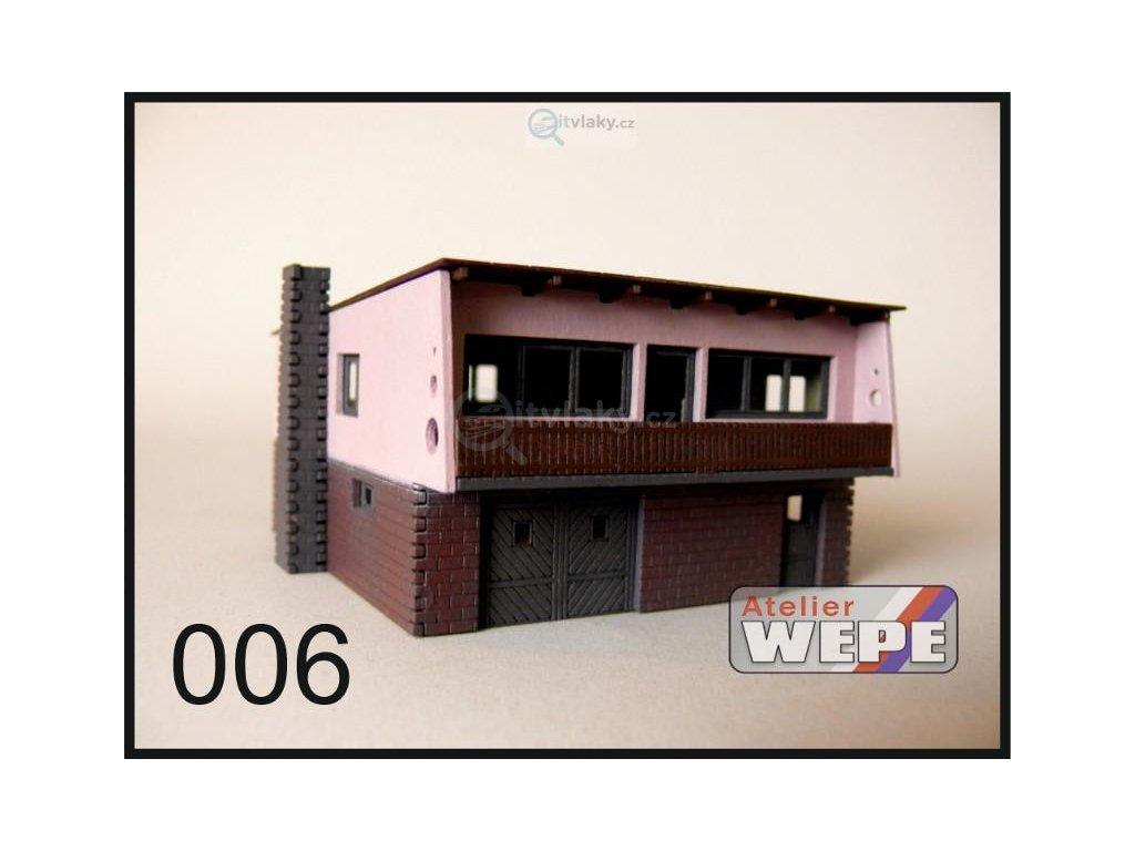 H0 - Rodinný dům ,,Šumperák'' 006 / AWEPE model 10011
