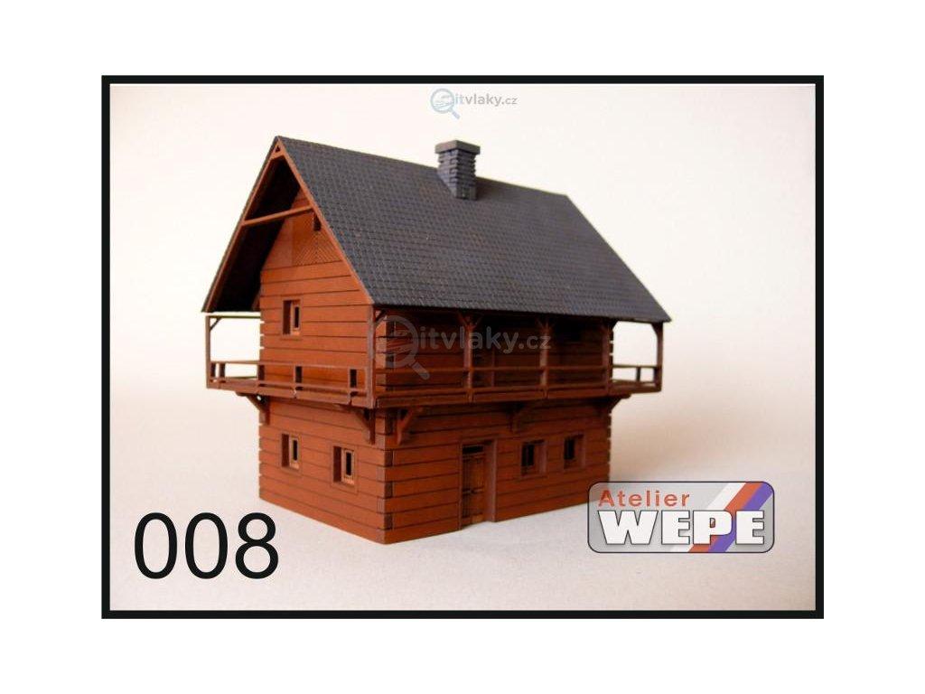 H0 - Historické stavení ,,Špýchar'' 008 / AWEPE model 10015
