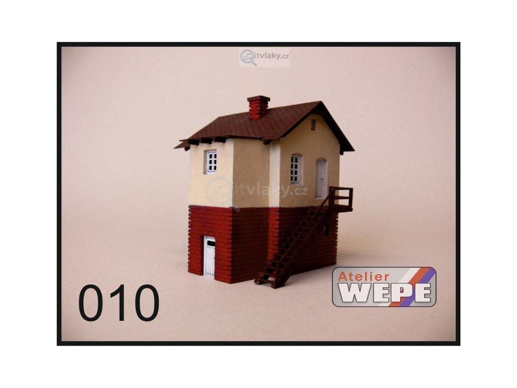 H0 - Strážní domek ,,Vechtr vysoký'' 010 / AWEPE model 10019