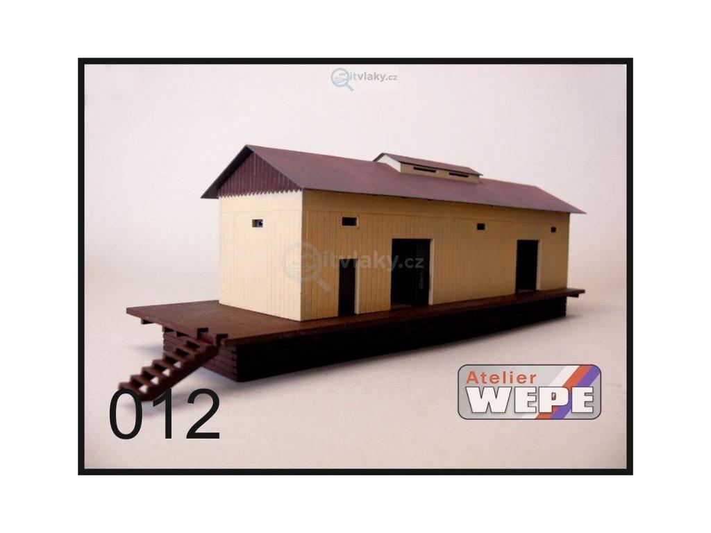 H0 - Budova skladu 012 / AWEPE model 10023