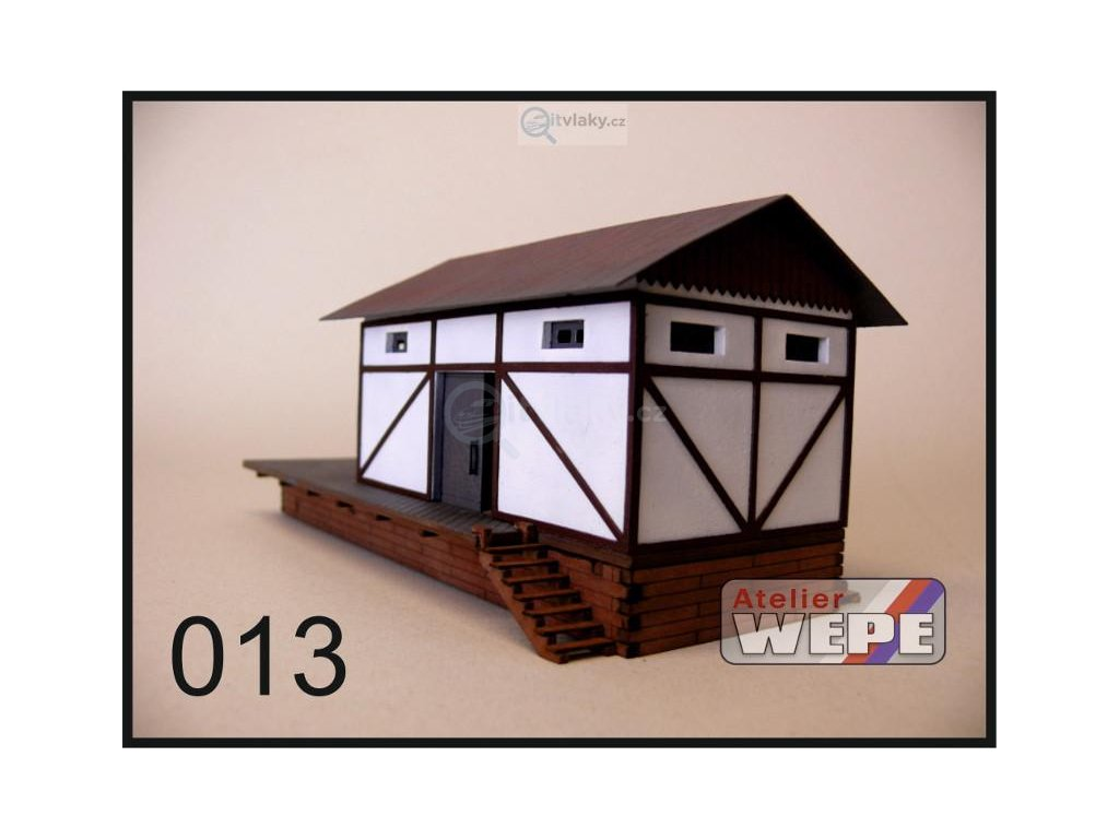 H0 - Budova skladu ,,Sklad malý'' 013 / AWEPE model 10025