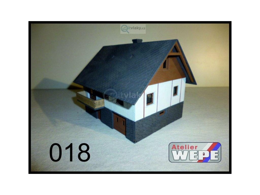 TT - Rodinný dům ,,Okál lišta'' 018 / AWEPE model 10036