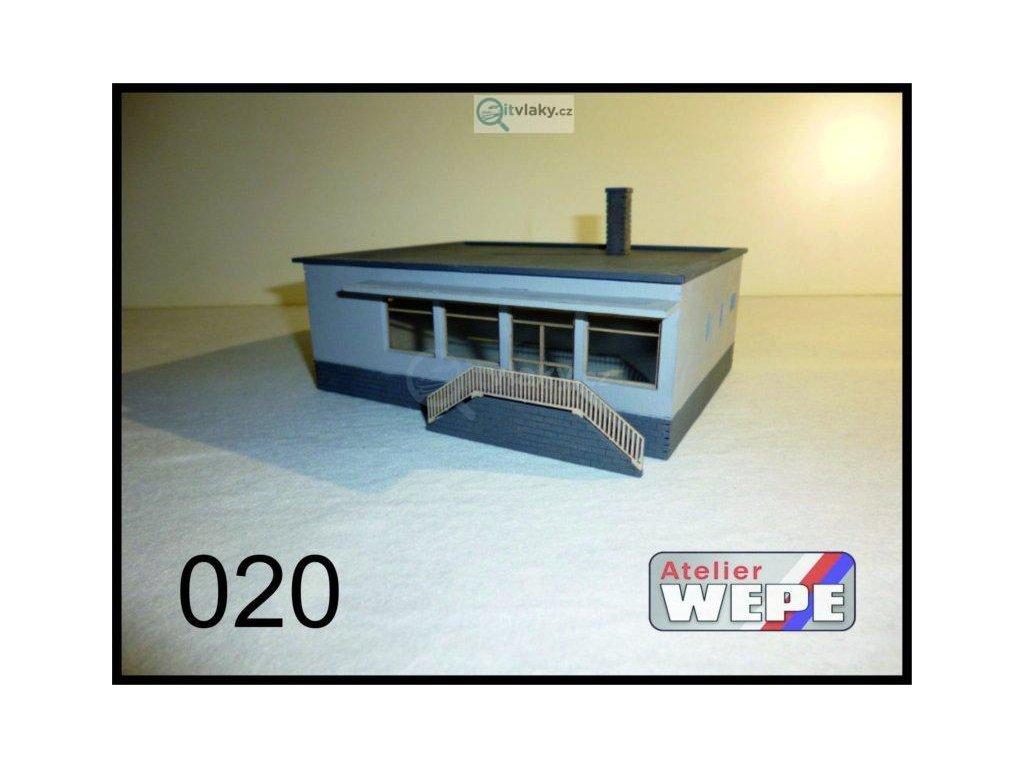 TT - Budova prodejny ,,Jednota'' 020 / AWEPE model 10040