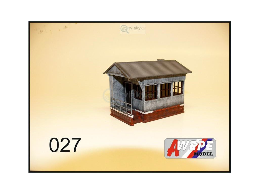 H0 - Hradlo malé 027 / AWEPE model 10053