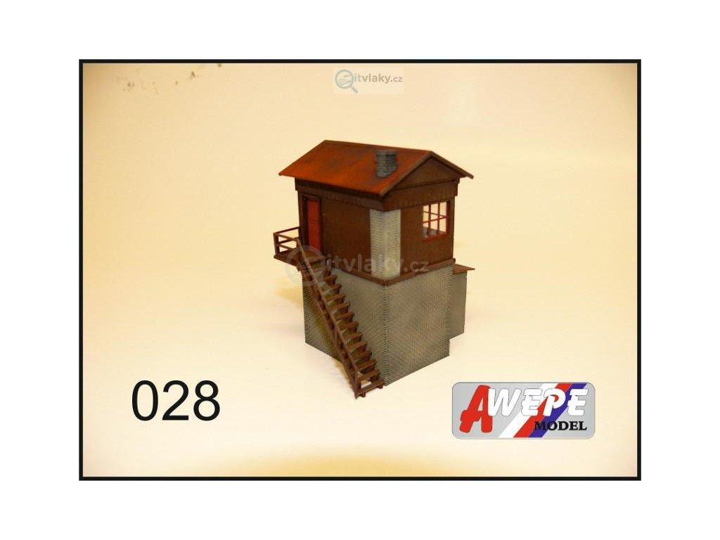 H0 - Hradlo vysoké 028 / AWEPE model 10055