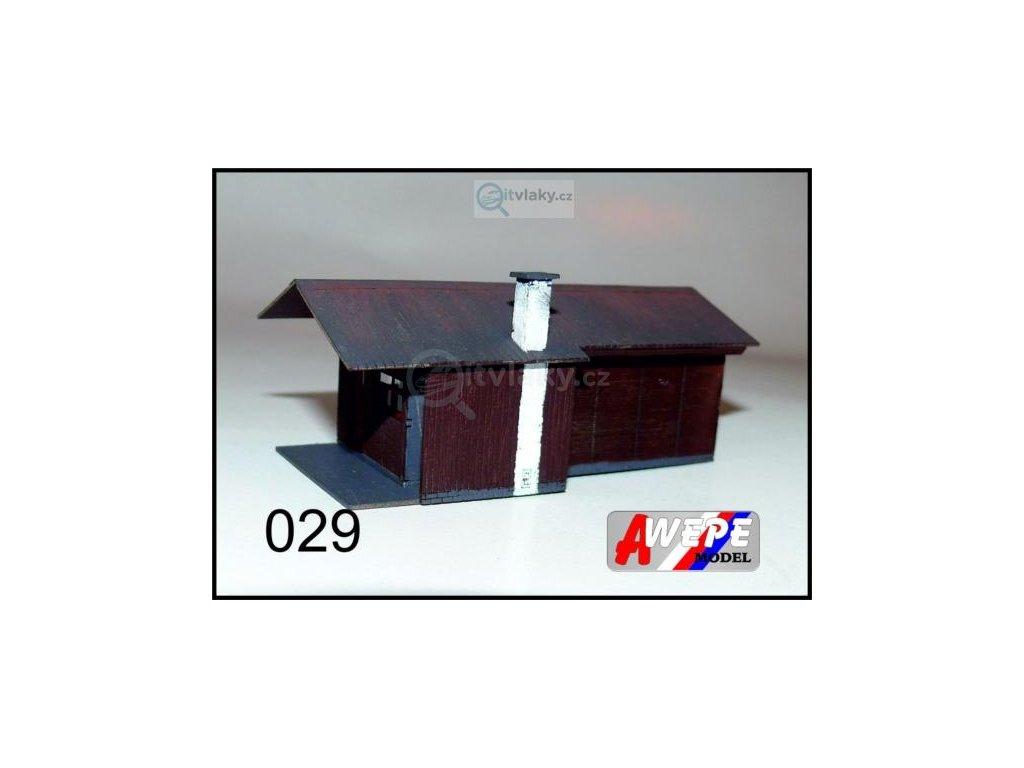 H0 - Chatka ,,Marie'' 029 / AWEPE model 10057