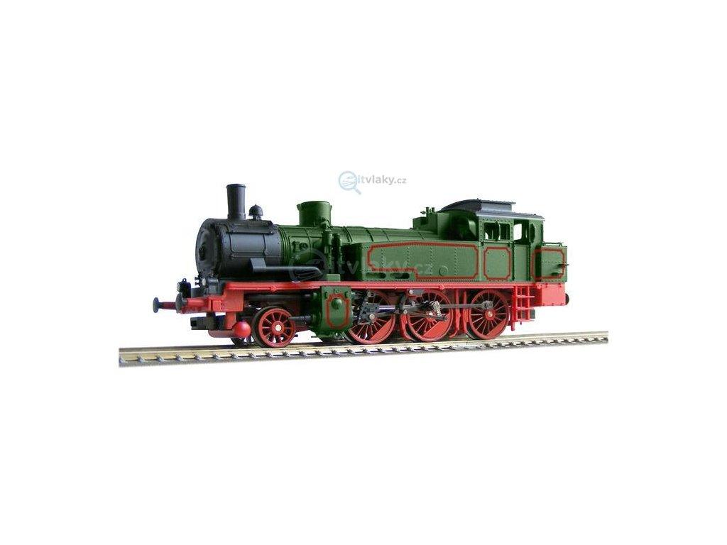 TT Parní lokomotiva řady 74.4 / T12 K.P.E.V. / FISCHER 1010700