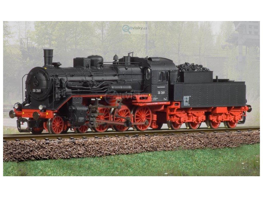 TT - parní lokomotiva BR 38 234 / DR BECKMANN 1018301