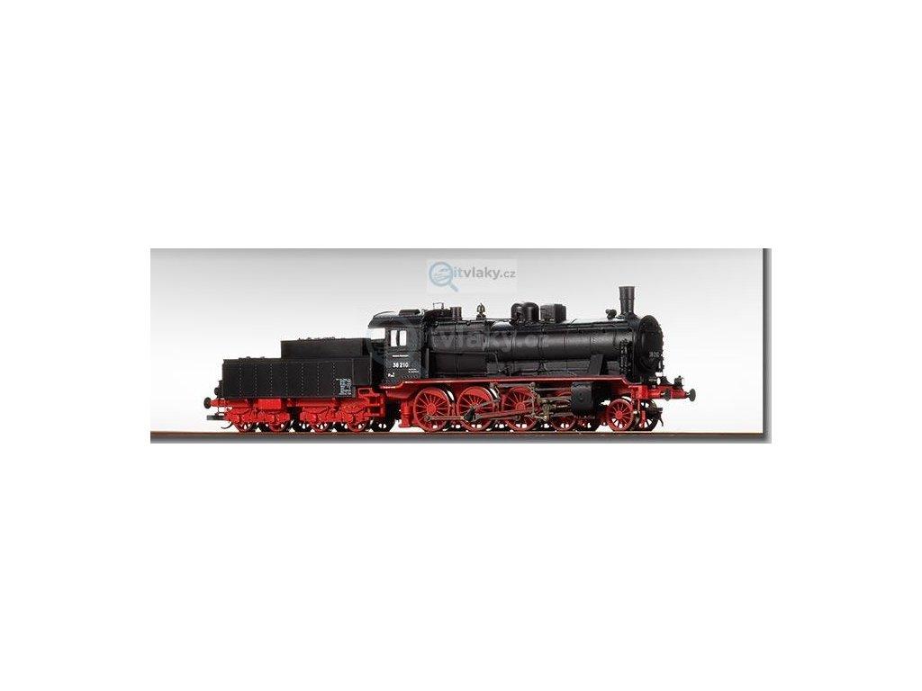 TT - DCC parní lokomotiva BR 38 210 DR / BECKMANN 1018309