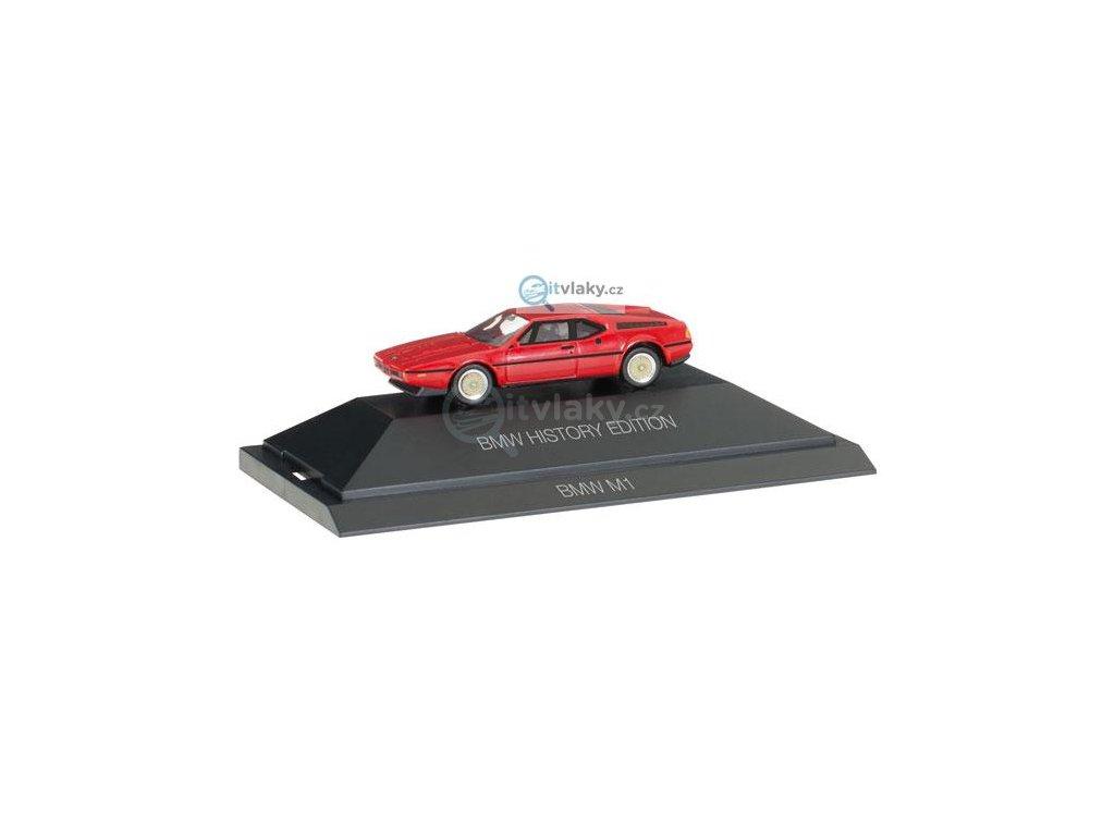 "H0 - BMW M1 ""BMW History Edition""/ HERPA  102025"