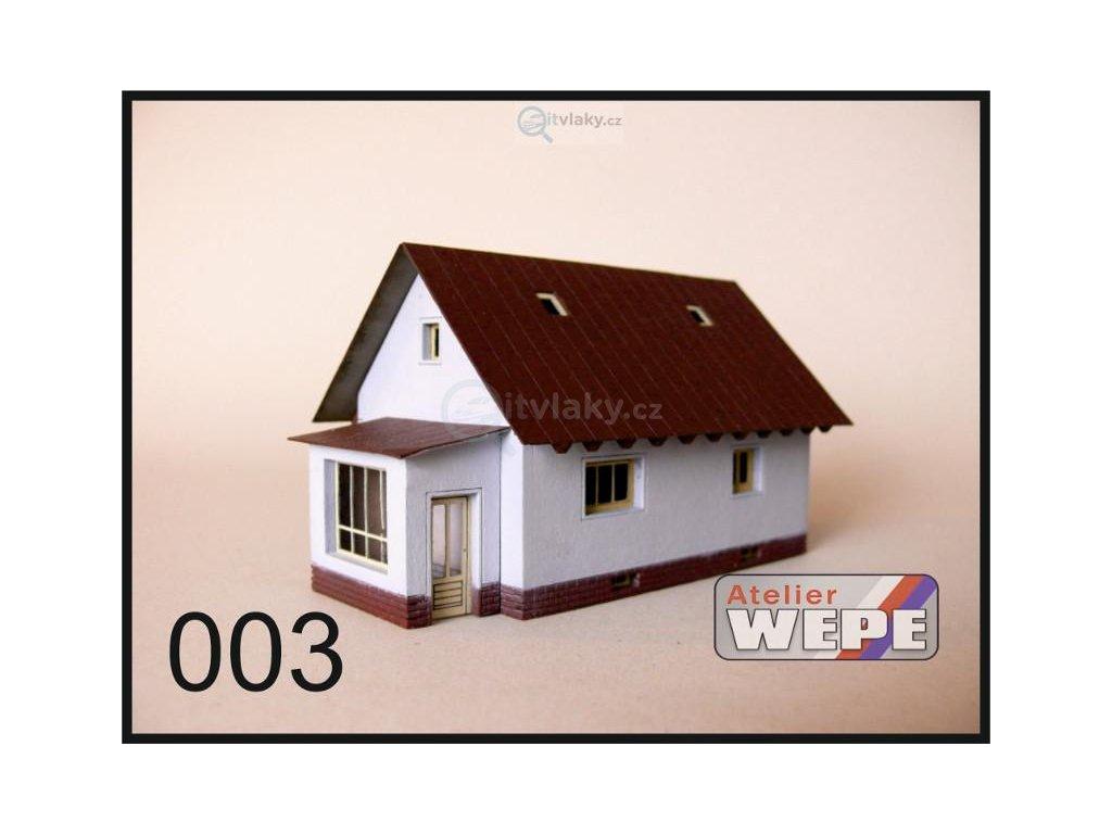 N - Rodinný dům ,,Kolonka'' 003 / AWEPE model 10203
