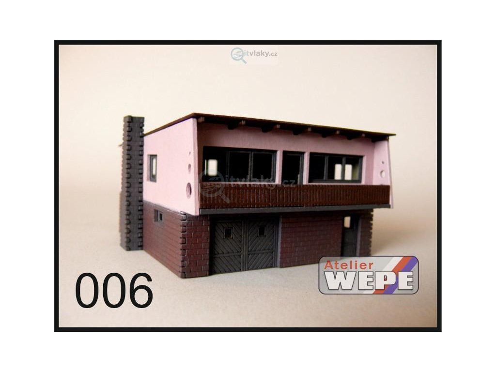 N - Rodinný dům ,,Šumperák'' 006 / AWEPE model 10206