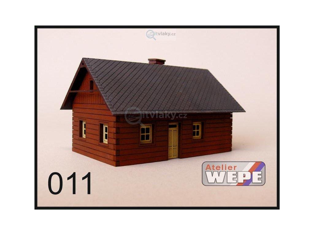 N - Historické stavení ,,Roubenka malá'' 011 / AWEPE model 10211