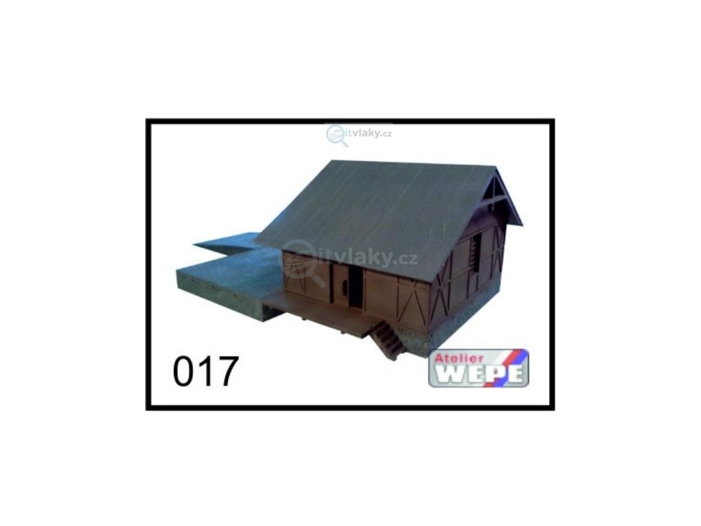 N - Budova skladiště ,,Sklad široký'' 017 / AWEPE model 10217