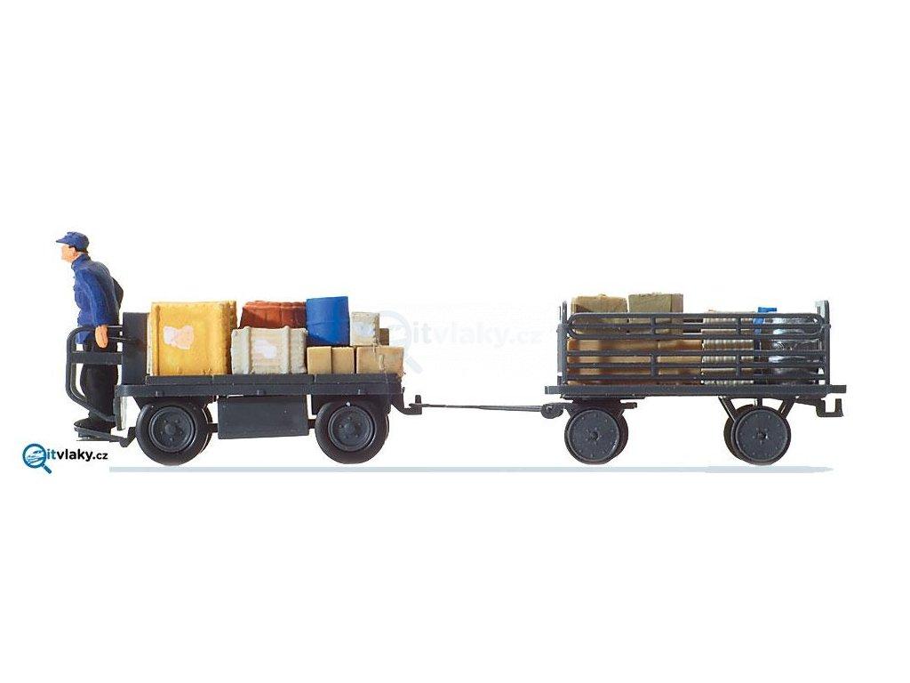 H0 - Elektrická vozidla s řidičem / Preiser 10256