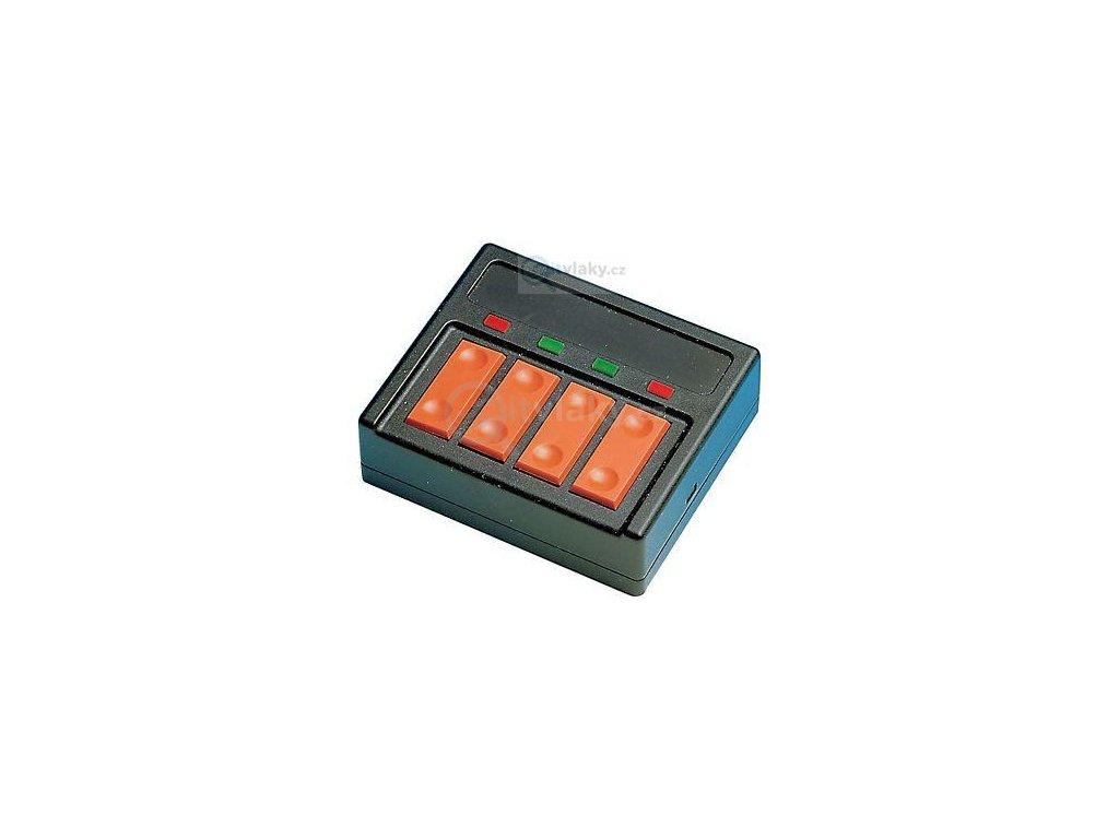 ovládací panel pro 4 výhybky s LED se zpětným hlášením / ROCO 10520