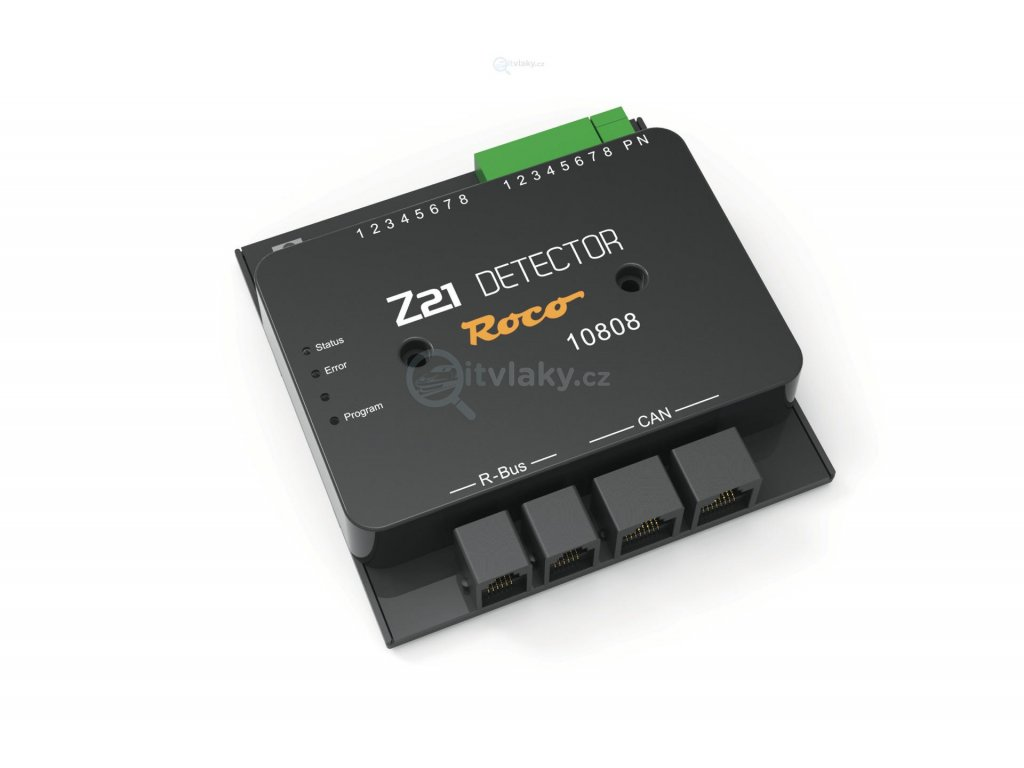 236332 detektor zpetne vazby na 8 useku s railcom roco 10808