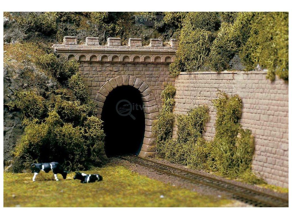 H0 - 2 jednokolejné tunelové portály / Auhagen 11342