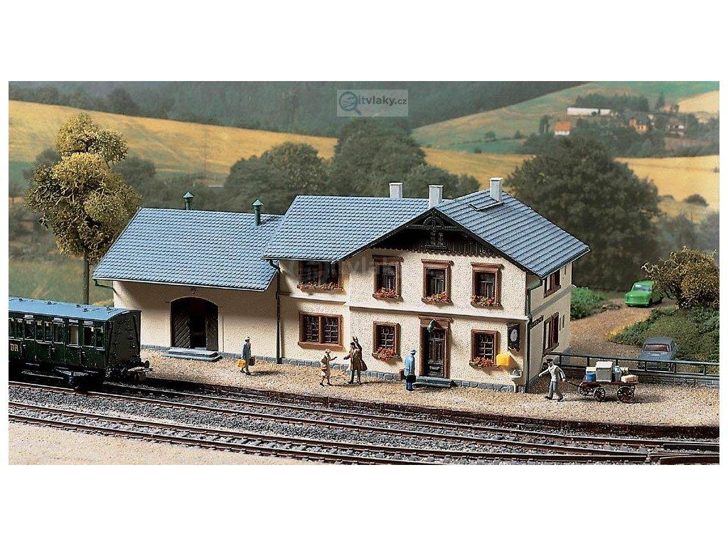 H0 - nádraží Oberrittersgrün / Auhagen 11362