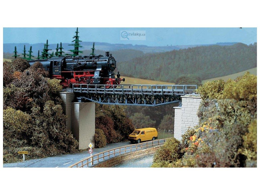 H0 - Železniční příhradový most / Auhagen 11365