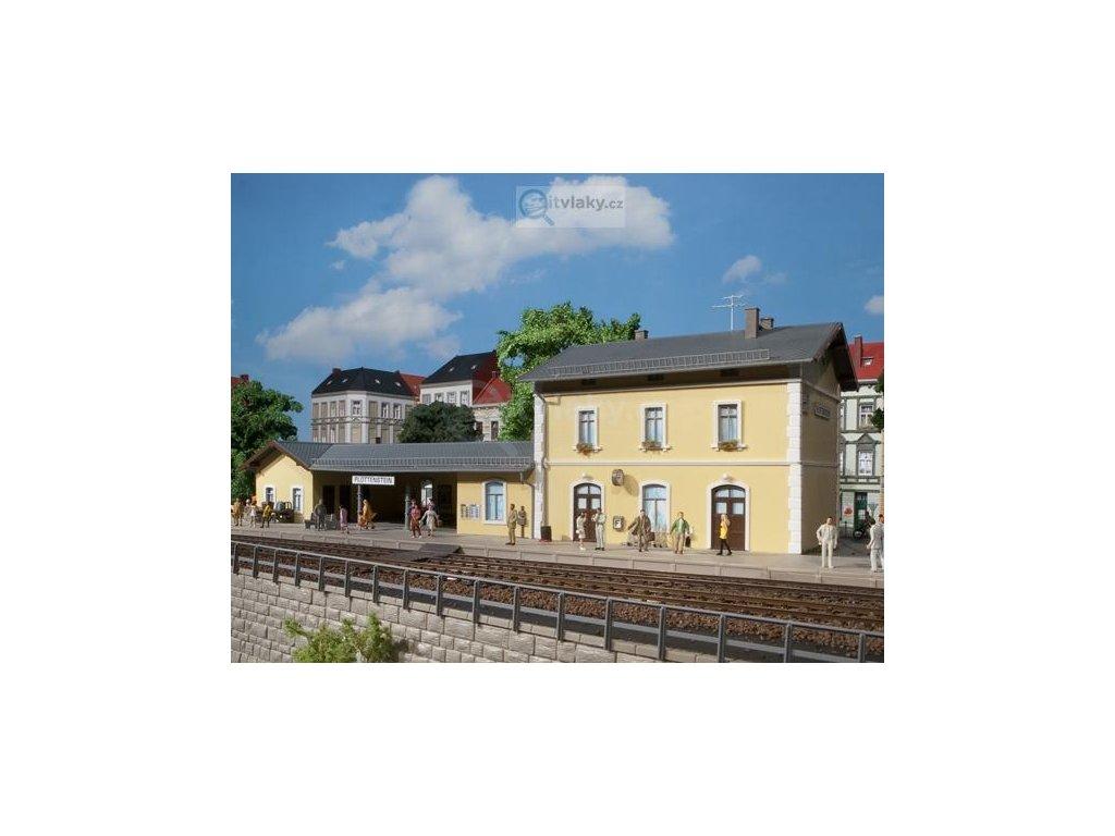 H0 - nádraží Plottenstein / Auhagen 11369